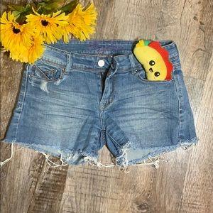 Delia's Taylor Shorts | Cut Off Denim Jean Shorts